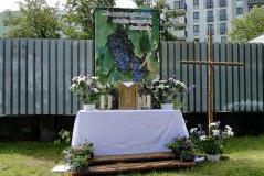 Budowa ołtarza, Boże Ciało 2013